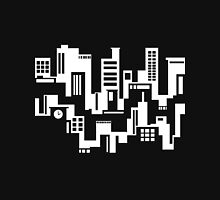 Black and white cityscape Unisex T-Shirt