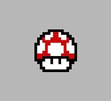 8-bit Mushroom by bananaclan