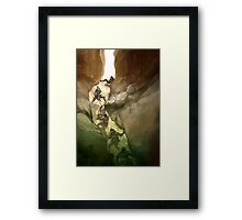 Chasm Fighters Framed Print