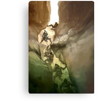 Chasm Fighters Metal Print