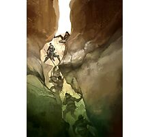 Chasm Fighters Photographic Print