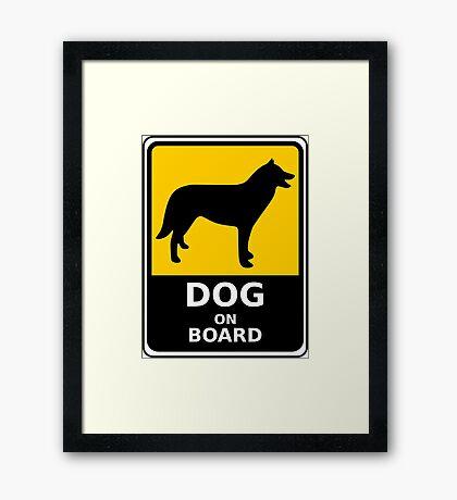I LOVE MY DOGS_30 Framed Print