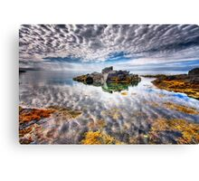 The Sky Above The Sky Below Canvas Print