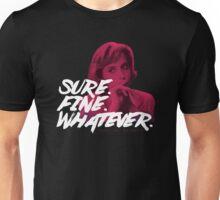 Sure. Fine. Whatever. (Pink) Unisex T-Shirt
