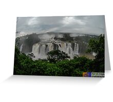 Iguazu Falls Greeting Card