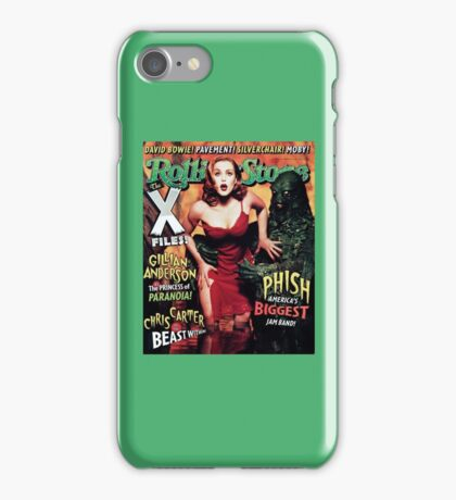Gillian Anderson Rolling Stone Cover iPhone Case/Skin