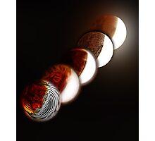 Lunar eclipse evolution Photographic Print