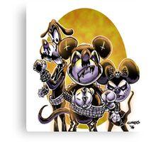 Deth Metal Disney Canvas Print