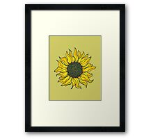 The Devoted Flower Praise The Sun Framed Print