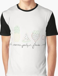 french fruit Graphic T-Shirt