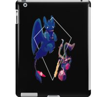 the dragon master and the alpha iPad Case/Skin