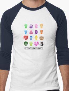 Pixelated Despair Men's Baseball ¾ T-Shirt