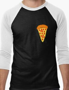 Bitty Pizza Men's Baseball ¾ T-Shirt
