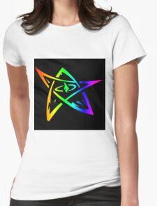 Rainbow Elder Symbol Womens Fitted T-Shirt