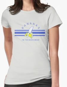 bananas in the bahamas Womens Fitted T-Shirt