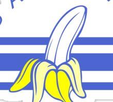 bananas in the bahamas Sticker