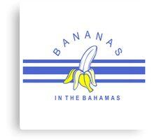 bananas in the bahamas Canvas Print
