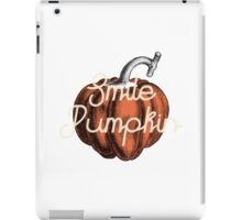 Smile Pumpkin iPad Case/Skin