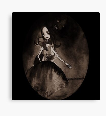 Dancing with the Devil Canvas Print
