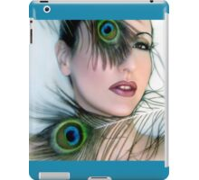 Feathered Beauty - Self Portrait iPad Case/Skin