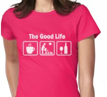 Womens Funny Gardening Shirt The Good Life Womens Fitted T-Shirt