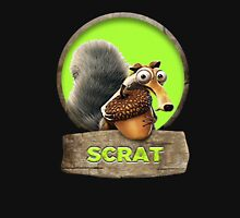 ice age scrat Women's Fitted Scoop T-Shirt