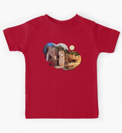 The ruins of Reichenau castle | architectural photography Kids Tee