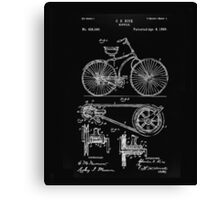 Bicycle Patent Canvas Print