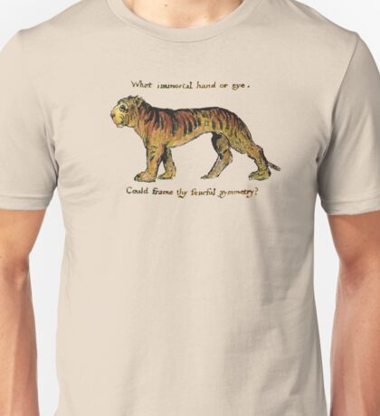 William Blake: The Tyger Unisex T-Shirt