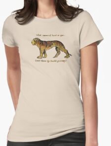 William Blake: The Tyger Womens Fitted T-Shirt