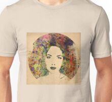 Klimt inspired Dandellion girl Unisex T-Shirt