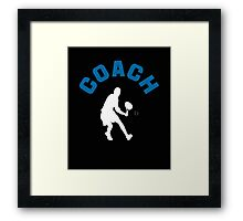 Tennis Coach  Framed Print