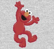 Elmo Happy One Piece - Short Sleeve