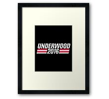 Underwood 2016 Framed Print