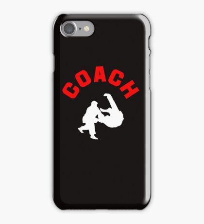 Judo Coach  iPhone Case/Skin
