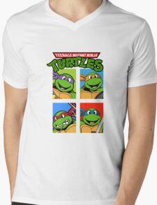TMNT Mens V-Neck T-Shirt