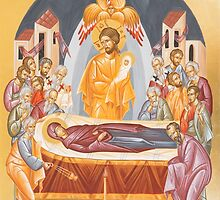 Dormition of the Theotokos by ikonographics