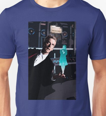 The Doctor and the Hologram Unisex T-Shirt