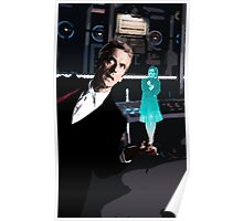 The Doctor and the Hologram Poster