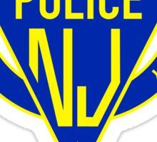 New state police new jersey Sticker