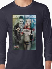 Harley Quinn & The Joker  Long Sleeve T-Shirt