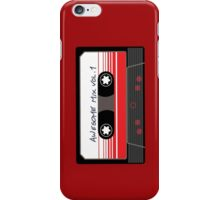 Awesome Mix Vol 1 iPhone Case/Skin