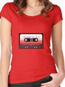 Awesome Mix Vol 1 Women's Fitted Scoop T-Shirt