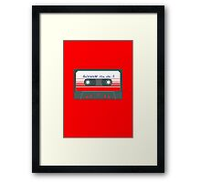 Awesome Mix Vol 1 Framed Print