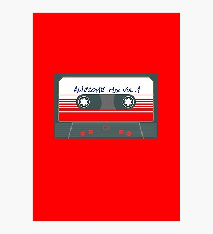 Awesome Mix Vol 1 Photographic Print