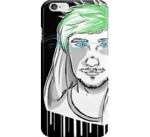 Jacksepticeye Lineart iPhone Case/Skin