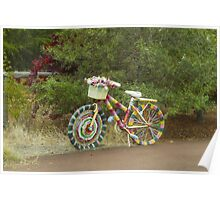The Knitted Bike #2 Poster