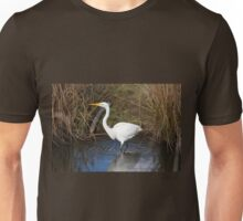 Just Right (Great Egret) Unisex T-Shirt
