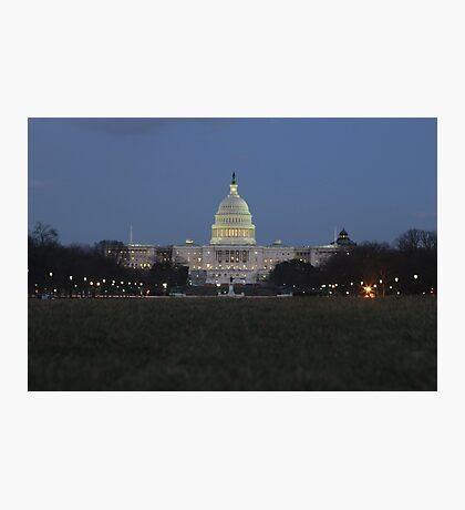 Capitol Building Photographic Print