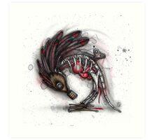 Wind Up Bird Art Print